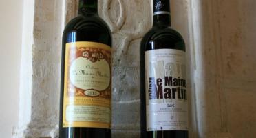 Château des Plassons - 6 Château Le Maine Martin 2018 : 3 Sélection Vieilles Vignes Et 3 Cuvée Nouvelle Génération