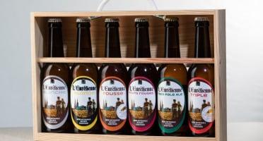 L'Eurélienne - Brasserie de Chandres - Coffret Bois 6 X 33cl