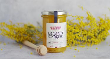 L'Essaim de la Reine - Miel de tournesol crémeux du Gers - 400g - récolté en France par l'apiculteur