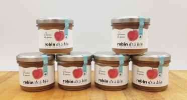 Robin des Bio - Petit pot bébé Bio et Locaux - 6x Pomme (dès 4 mois)