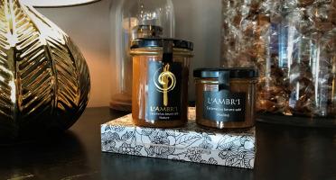 L'AMBR'1 Caramels et Gourmandises - Crèmes De Caramel Au Beurre Salé Nature Et Vanille De Madagascar Bio