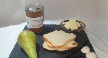 La Ferme du Montet - Confiture Extra de poires vanille BIO - 220 g