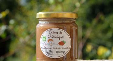 Papilles Sauvages - Crème De Châtaignes D'ardèche Bio - 250g