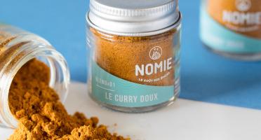 Nomie, le goût des épices - Curry Doux
