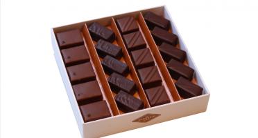 La Glacerie par David Wesmaël - Meilleur Ouvrier de France Glacier - Coffret de Chocolats au Lait et Ganaches