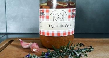 La ferme de Rustan - Tajine de Veau d'Aveyron et du Ségala Label Rouge et IGP 750 g