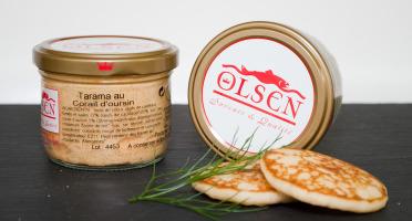 Olsen - Tarama au corail d'oursin (5%), verrine 90g
