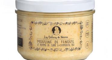 Les délices de Noémie - Petits pots bébé 8 mois: Lot de 3 Mouliné de fenouil et pomme de terre a l'emmental Bio