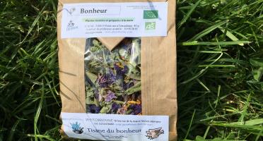 """PhytoBrenne Le Jardin des Magies - Tisane Composée """"Bonheur"""""""
