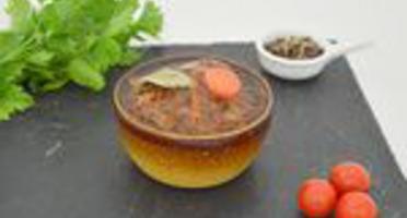 Les producteurs de CoopCorico - Pâté de Lapin au Muscadet en Terrine en grès de 450g