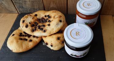 Gourmets de l'Ouest - Craquelins chocolat + duo confitures