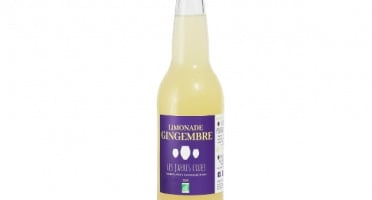 Les Jarres Crues - Limonade Gingembre BIO - 33 cl