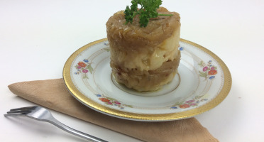 Christian Piot - Votre chef en ligne - Marbré de pomme de terre au vinaigre de Reims