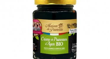 Maison du Pruneau - Crème de Pruneaux Bio - Pot de 220g