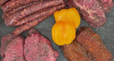 Les Viandes du Forez - Colis Barbecue de Boeuf Charolais 3kg