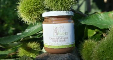 L'Art des Châtaignes - Crème De Châtaignes Allégée En Sucre - Citron Gingembre