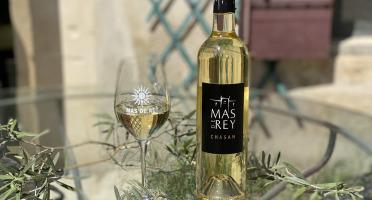 Domaine du Mas de Rey - IGP Terre de Camargue - Cuvée ''Chasan blanc 2019'', Lot de 3 Bouteilles