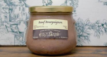 Ferme des Hautes Granges - Bœuf Bourguignon - 790 g