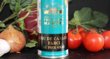 Fontalbat Mazars - Cou de canard farci 20% foie gras