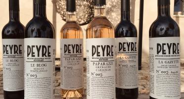 Domaine des Peyre - Lot AOP Ventoux Rouge et IGP méditerranée Rouge et Rosé - 6 Bouteilles