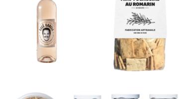 Les Niçois - Coffret Rosé Garcia