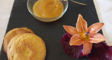 La Ferme du Montet - Compote Pomme - peche - bio - sans sucre ajouté