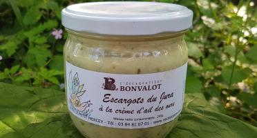 L'escargotière BONVALOT - Escargots à la Crème d'Ail des Ours