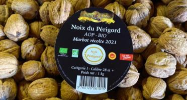 Ferme de Pleinefage - Noix BIO AOP Périgord Filet de 1Kg de «MARBOT » Nouvelle Récolte 2021