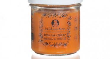 Les délices de Noémie - Petits Pots Bébé 6 Mois: Lot de 3 Purée fine de carottes nouvelles au cumin Bio