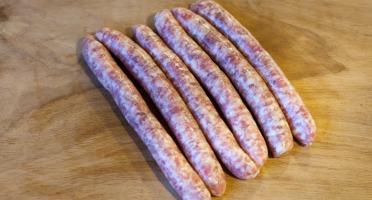Ferme de Montchervet - Petites saucisses X 4, 300g