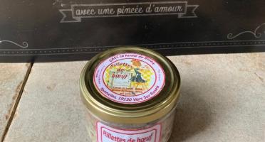 La ferme du Roseix - Rillettes de Bœuf Limousin Nature