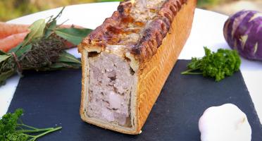 La Ferme du Chaudron - Pâté en Croûte BIO - 180 g