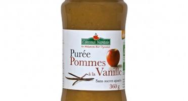 Les Côteaux Nantais - Purée Pommes Vanille 360g Demeter