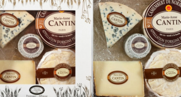 La Fromagerie Marie-Anne Cantin - Coffret Cantin N°2