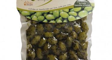 Les amandes et olives du Mont Bouquet - Olives aux Herbes de Provence