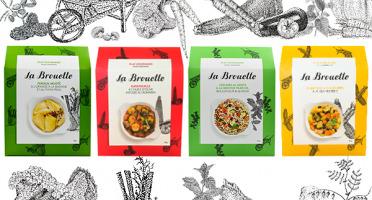 La Brouette - Pour 8 Pers. - Fenouil + Ratatouille + Légumes Al Dente + Curry Doux De Légumes - Convient aux végétariens