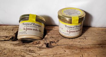 La Ferme Enchantée - Terrine d'Escargots au Pineau des Charentes - 90 gr