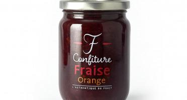 La Fraiseraie - Confiture Fraise-Orange 325g