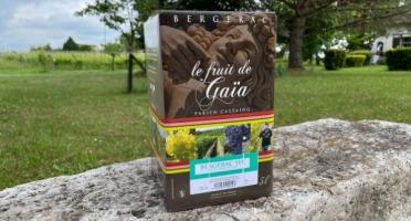 Vignobles Fabien Castaing - AOC Bergerac Blanc Sec Le Fruit de Gaïa BiB - 5 litres