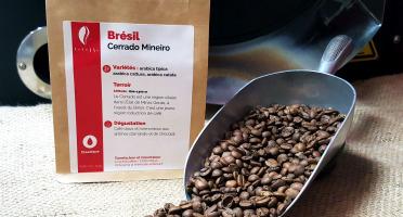 Brûlerie de Melun-Maison Anbassa - Café Cerrado Mineiro-brésil - En Grains