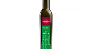 Domaine des Terres Rouges - Huile D'olive Au Basilic 25cl