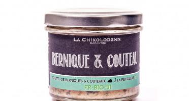 La Chikolodenn - Rillettes De Berniques Et Couteaux À La Persillade Bio