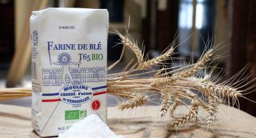 Moulins de Versailles - Farine De Blé Bio T65 - 1kg