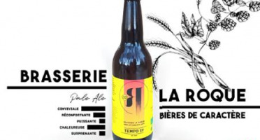 La Roque  Brasserie Bio, paysanne et familiale - Bière Tempo 6x75cl - Brasserie Fermière Bio