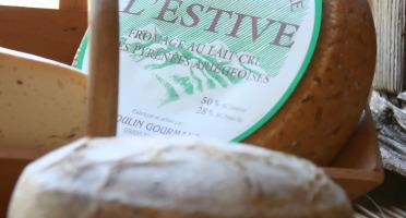 Le Moulin Gourmand - Fromage De Bethmale Au Lait Cru De Brebis & Chèvre Bio - 500g