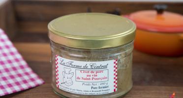 La Ferme de Cintrat - Civet de porc au vin de Saint-Pourçain