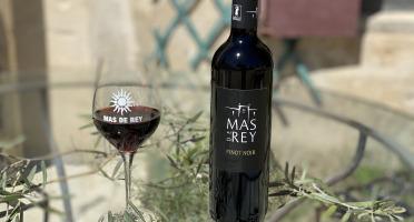 Domaine du Mas de Rey - IGP Terre de Camargue - Cuvée ''Pinot Noir rouge 2017'', Lot de 6 Bouteilles