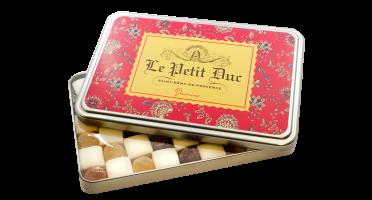 Le Petit Duc - Damier de calissons et pâtes de fruits - Boite 275g