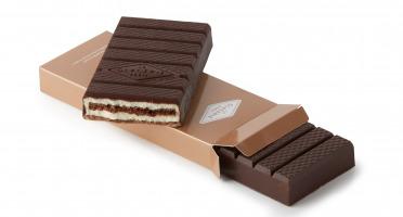 La Glacerie par David Wesmaël - Meilleur Ouvrier de France Glacier - Tablette Glacée Chocolat Noir & Cacahuètes
