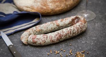 Maison Millas - Saucisse Sèche - Pli - Sans Nitrite Ajouté